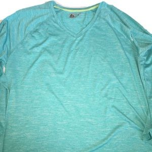 RBX Long sleeve active top v-neck. 3X